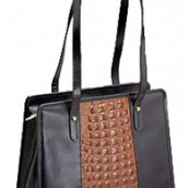 Large Leather Tote Bag: Image