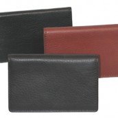 Leather Business Card Case: Image