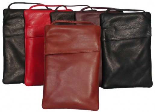 Deluxe Leather String Pouch