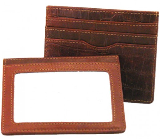 Mississippi Collection Leather ID Card Case