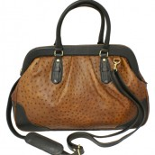 Ostrich Leather Doctor Bag: Image