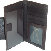 Ostrich Leather Checkbook: Image