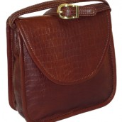 Alligator Leather Shoulder Bag: Image