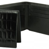 Thin Fold Leather Wallet: Image