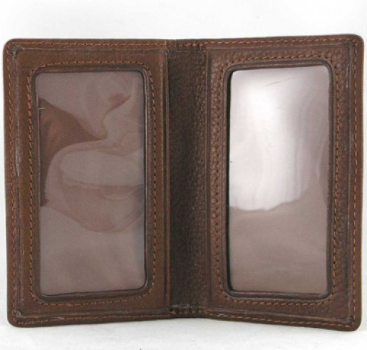 Leather ID Business Card Case