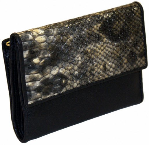 Python Ladies Leather Wallet